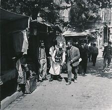 ISTAMBOUL c. 1960 - Vendeur de Thé Ambulant  Turquie - Div 5849