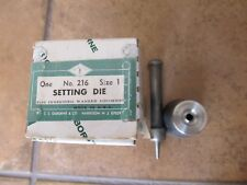 C.S. Osborne For Inserting Washer Grommet #216-1 (Size 1) Made In Usa