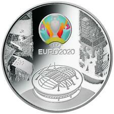 Russland - 3 Rubel 2021 - Fußball-Europameisterschaft 2020 - 1 Oz Silber PP