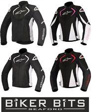 5% OFF Alpinestars STELLA T-JAWS Ladies Waterproof Motorbike Textile Jacket