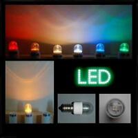 LED 0,6W E14 klar gelb farbig Kronleuchter Tropfenlampe