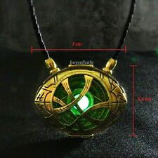 Dr Doctor Strange Pendant Necklace EYE of AGAMOTTO Amulet Fluorescent GLOW 7cm