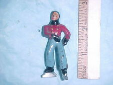 Vintage Barclay Boy Skater dressed in red shirt & blue pants # 628