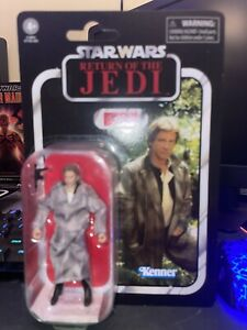 """Hasbro Star Wars Vintage Collection VC62 Han Solo Endor 3.75"""" Action Figure New"""