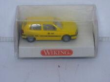 Wiking N Gauge Postdienst-vw Golf 04901 Yellow German Postal Van