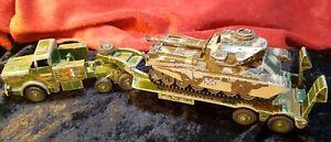 Centurion MK.III & Mighty Anta Transporter Corgi SUPERTOYS 2 Play worn Vehicles