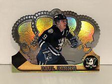 1997 Pacific Crown Royale Silver 2 Paul Kariya Mighty Ducks of Anaheim Hockey!