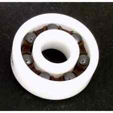 16 Full Ceramic 608 inline/Rollerblade/Skate Bearing: Si3N4 Balls, Nylon Cage 8x
