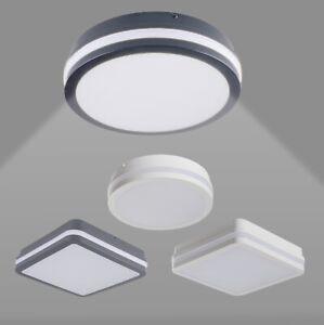 LED Deckenlampe Deckenleuchte Wandleuchte IP54 Außenleuchte Flur Vordach Modern