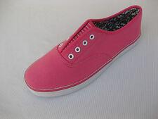 Daniel Green Womens Shoes NEW $40 Stephanie Pink Canvas Oxford 6.5 M