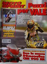 Motosprint 37 2001 Superbike Bayliss campione del mondo. Nuova Honda CBR 900 RR