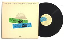THE BEATLES At The Hollywood Bowl LP CAPITOL / EMI SMAS11638 US 1977 Gatefold NM