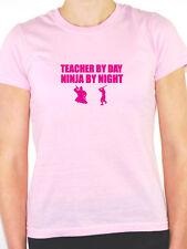 TEACHER BY DAY NINJA BY NIGHT - Novelty / Sport Themed Women's T-Shirt