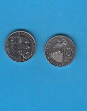 Cinquième République 10 Francs  Nickel 1986 Robert SCHUMAN Le père de l'Europe