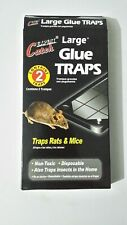 PACK OF 2 X LARGE MOUSE RAT PEST TRAP SAFE EFFECTIVE