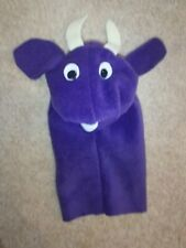 Replica of Rare Vintage Purple Cow Puppet as seen in Baby Einstein