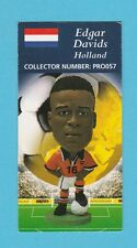 FOOTBALL - CORINTHIAN  -  FOOTBALLER  CARD  -  EDGAR  DAVIDS  OF  HOLLAND