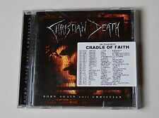 Christian Death Born Again anti Christian CD 2000 Tour sticker wie neu