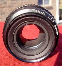 PENTAX-A 1:1.7 50mm CAMERA LENS
