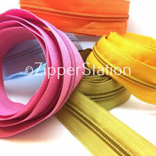 Nylon Coil Element/Teeth Polyester Tape Sewing Zips