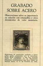 Stati Uniti Saggio Specmen Rembrandt in libretto completo in lingua Spagnola