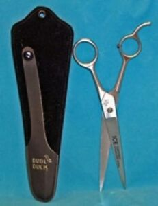 "Dubl Duck Economy 8.25"" Straight Grooming Scissors"