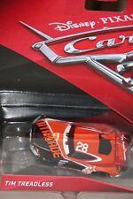 "DISNEY PIXAR CARS 3 ""#28 TIM TREADLESS...A.K.A.NITROADE"" NEW IN PACKAGE, SHIP WW"