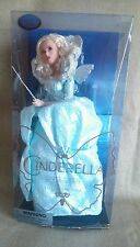 DISNEYSTORE GENUINE CINDERELLA LIVE ACTION MOVIE FAIRY GODMOTHER DOLL 11""
