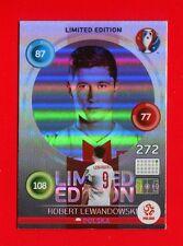 EURO FRANCE 2016 - Adrenalyn Panini Card Limited Edition Hero - LEWANDOWSKI- POL