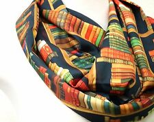Books infinity scarf library birthday gift for her bookworms reader bestseller