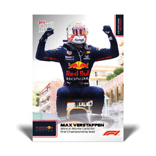 Max Verstappen Red Bull Racing 2021 Topps Now Formula 1 F1 Card #10