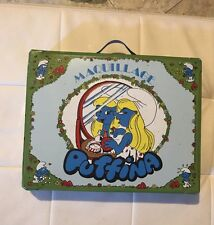 PUFFI/SMURFS BEAUTY CASE PUFFINA Vintage Maquillage