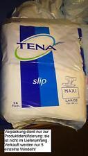 alte Tena Slip MAXI large Windel für Erwachsene m. Plastikfolie *RAR*AB/DL