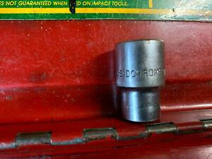 "Vintage Sidchrome Metric 1/2"" Drive Socket 12mm Made in Australia"