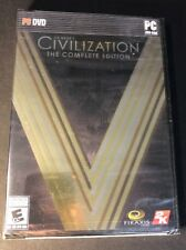 Civilization V [ The Complete Edition ] (PC / DVD-ROM) NEW