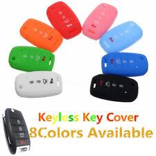 4Button Silicone Remote Key Cover For KIA Cerato K3 Optima Rio Forte Carens Soul