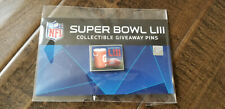 2019 Wincraft Collectible Giveaway Super Bowl 53 Liii Pin Gatorade 1 Of Only 100