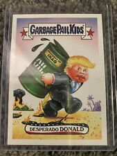 2016 GPK Garbage Pail Kids Disgrace to the White House #3 Desperado Donald