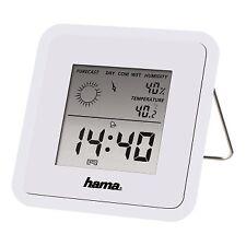 Digital LCD Clock Thermometer Hygrometer Humidity Meter Room Indoor Temperature