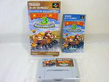 SUPER DONKEY KONG 3 SDK Super Famicom Nintendo SFC Japan Game sf