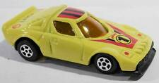 High Speed Diecast Lancia Stratos Rally Yellow Pull-Back Macau 1/64 Scale