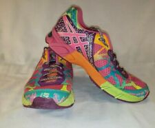 Asics Gel Noosa Tri 9 Neon Running Shoes Men Size 4 Multicolored Sneakers