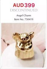 Authentic Pandora 14K Gold Angel Charm, 750419 *Retired*