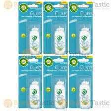 6 x AIR WICK AIRWICK FRESHMATIC COMPACT AUTOMATIC SPRING DELIGHT REFILLS 24ML