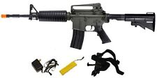 Full Size M4 Carbine Auto Electric Airsoft Gun Shoot Hard up to 280 FPS