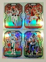 2020 Prizm Football SILVER PRIZMS Parallels You Pick with Legends and Rookies