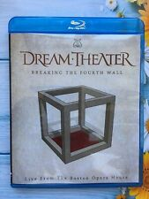 Dream Theater Breaking The Fourth Wall Live From The Boston Opera  (Blu ray New)