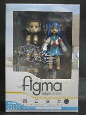 Max Factory FIGMA EX 001 Lucky Star Konata Izumi Cosplay ver. action figure