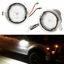 2X Canbus Error Free LED Side Mirror Puddle Lights For Ford Edge Explorer Taurus