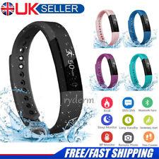 Bluetooth Smart Fit bit Watch Heart Rate Blood Pressure Monitor Fitness Tracker